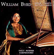 William Byrd CD cover
